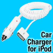 XtremeMac's Car Charger for docking iPods
